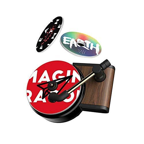 NCElec Car Retro Record Player Air Fresh Clip Perfume Vent Outlet Diffuser Auto Decor