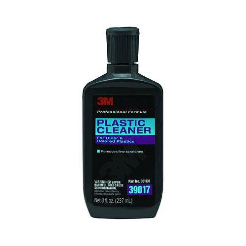 3M Plastic Cleaner, 8.0 oz Bottle