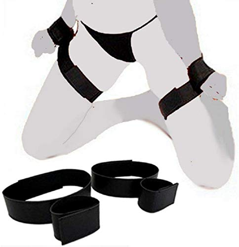 Hotsexon Yoga Straps Rê-str-äint Nylon Cuffs Straps for Wrist and Thigh AP099