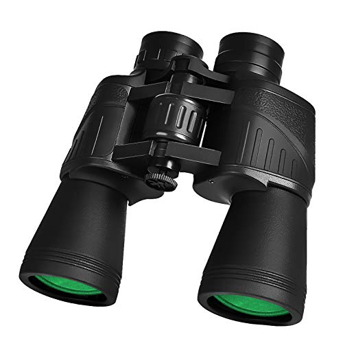 Binoculars for Adults 20X50, Wide Angle Professional Binoculars with BAK4 Prism FMC 23mm Big Oculars Lens, Powerful Clear Binoculars for Bird Watching, Hunting, Concerts, Sports, Travel