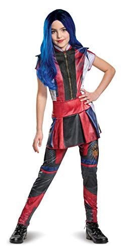 Disguise Disney Evie Descendants 3 Classic Girls' Costume, Red, Large (10-12)