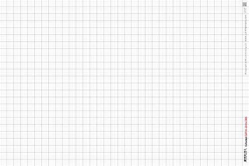 JJH Planners - Laminated - 24' x 36' - Large Graph Paper 1' and 1/4' Rulled (GP4-24x36)