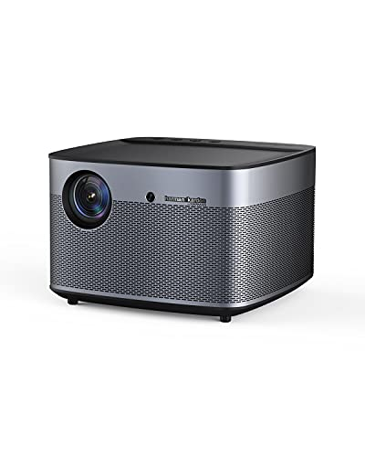 XGIMI H2 True 1080p Movie Projector 4K Supported Smart Projector, 1350 ANSI Lumens Home Theater Projector, Integrated Harman Kardon Sound Bar, Auto Focus, Auto Keystone Correction, Android OS