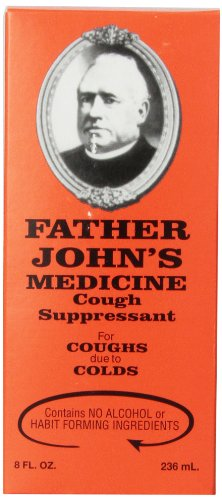 Father John's Alcohol Free Cough Medicine, 8 Ounces