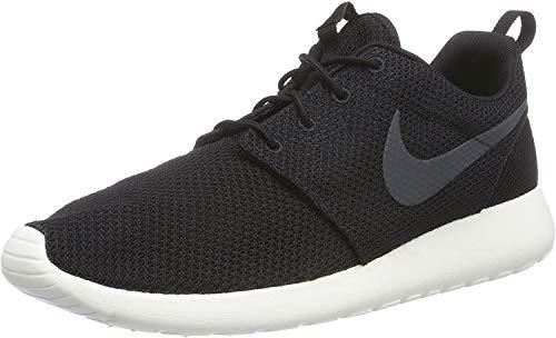Nike Mens Rosherun Black/Anthracite/Sail Running Shoe 9.5 Men US