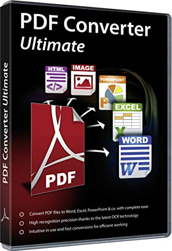PDF Converter Ultimate - Convert PDF files to Word, Excel, PowerPoint and others - file conversion software with OCR recognition for Windows 10 / 8.1 / 8 / 7