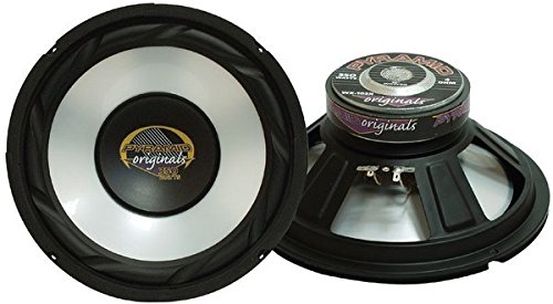 6.5 Inch Car Woofer Speaker - 300 Watt High Powered White Injected Polypropylene Cone Car Audio Sound Component Speaker System w/ High-Temperature Kapton Voice Coil, 4 Ohm, 40oz Magnet - Pyramid WX65X