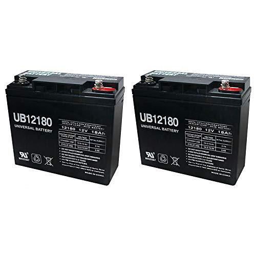 Universal Power Group UB12180 12V 18AH Internal Thread Battery for Schumacher PSJ-3612-2 Pack