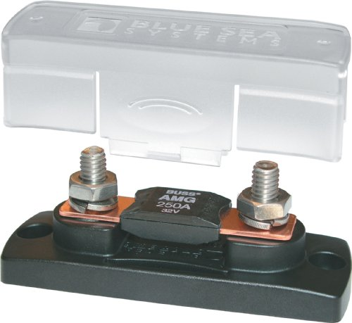Blue Sea Systems 100-300A MEGA/AMG Fuse Block with Cover
