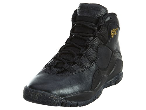 Nike Air Jordan 10 X Retro NYC Premium basketball shoes Sneaker different colors, EU Shoe Size:EUR 38.5, Color:black