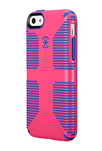 Speck Candyshell Grip Case Compatible with iPhone 5c - Cupcake Pink/Cobalt Blue