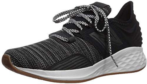 New Balance Men's Fresh Foam Roav V1 Sneaker, Black/Summer Fog, 9 M US