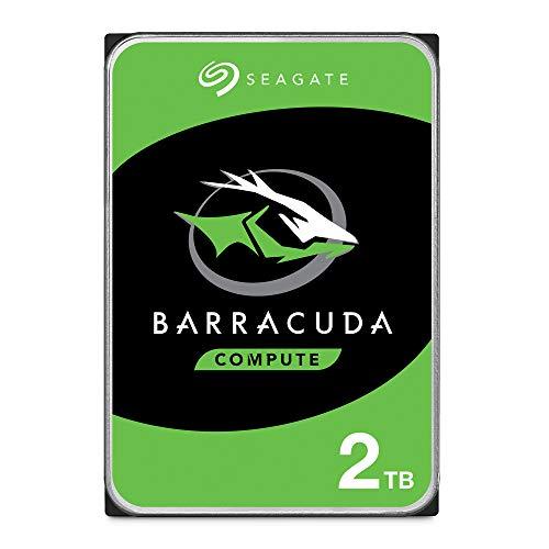 Seagate BarraCuda 2TB Internal Hard Drive HDD – 3.5 Inch SATA 6Gb/s 7200 RPM 256MB Cache 3.5-Inch – Frustration Free Packaging (ST2000DM008/ST2000DMZ08)