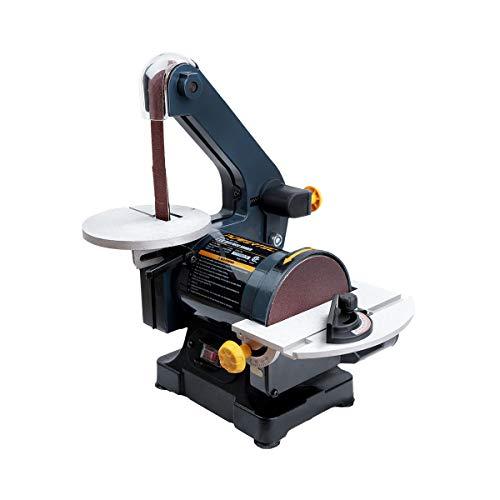 POWERTEC BD1502 Belt Disc Sander for Woodworking   1 in. x 30 in. Belt Sander with 5 in. Sanding Disc
