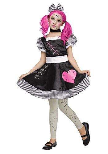 Fun World Girls Broken Doll Costume Medium