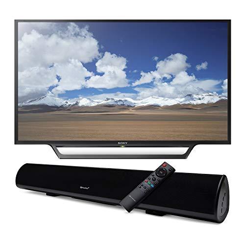Sony KDL32W600D 32-Inch Built-in Wi-Fi HDTV with Knox Gear Wireless TV Soundbar with Bluetooth 5.0 Bundle (2 Items)