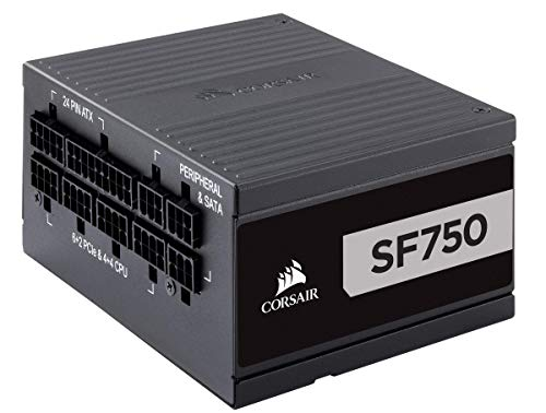 Corsair SF Series, SF750, 750 Watt, SFX, 80+ Platinum Certified, Fully Modular Power Supply