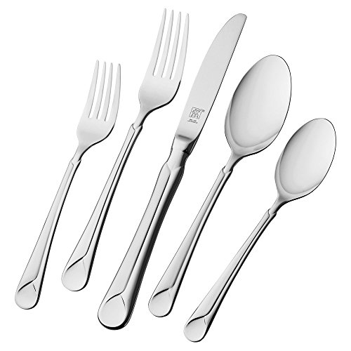 Henckels Zwilling j.a Provence 45-pc 18/10 Stainless Steel fl Flatware Set, Piece, Silver