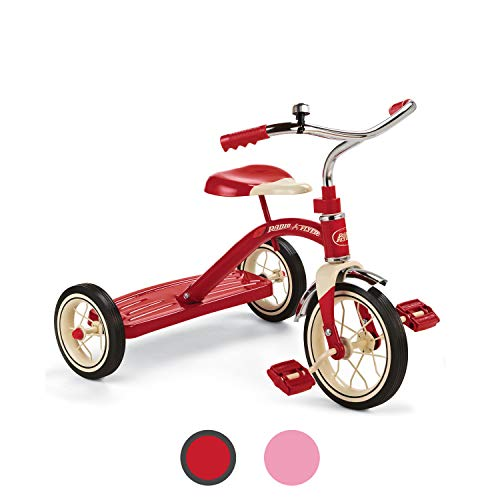 Radio Flyer Classic Red 10' Tricycle for Toddlers ages 2-4