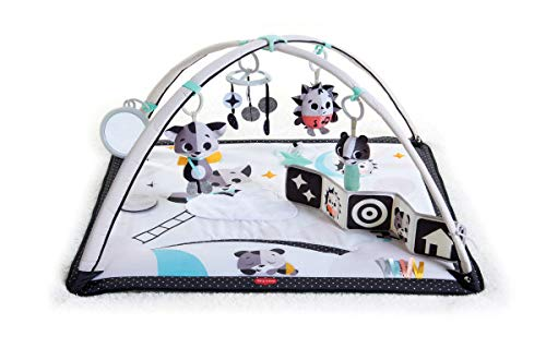 Tiny Love Black & White Gymini Infant Activity Play Mat With Book, Magical Tales, Deluxe, 1
