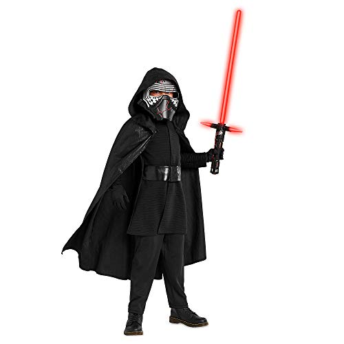 Star Wars Kylo Ren Costume for Boys – The Rise of Skywalker- Size 4 Multi
