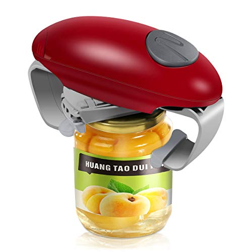 Electric Jar Opener, Kitchen Gadget Strong Tough Automatic Jar Opener with Less Effort to Open