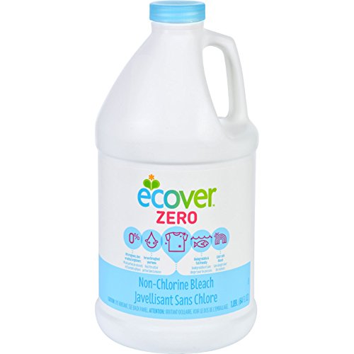 Ecover Zero Liquid Non-Chlorine Bleach, 64 Fluid Ounces (Pack of 2)