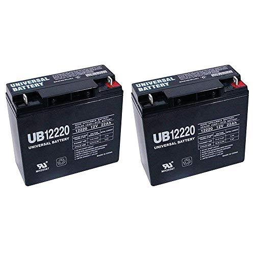 Universal Power Group 12V 22Ah SLA Battery for Schumacher PSJ-3612 Jump Starter + 2 Pack