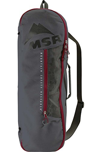 MSR Snowshoe Bag, Tote Bag for Carrying, Packing and Storing Snowshoes, Fits Snowshoes Up to 25 Inches, Black