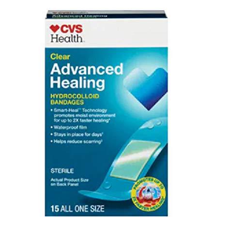 CVS Health Advanced Healing Hydrocolloid Bandages (Clear)