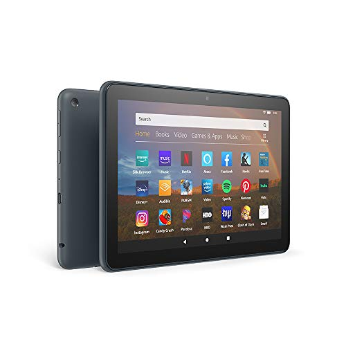 All-new Fire HD 8 Plus tablet, HD display, 32 GB, our best 8' tablet for portable entertainment, Slate