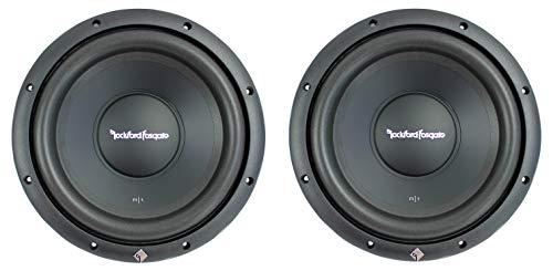 (2) Rockford Fosgate R1S4-10 10' 800 Watt 4 Ohm Car Audio Subwoofers Subs