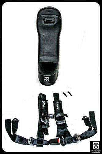 Teryx 4 Rear Bump Seat W/ 4-Point Harness | Center Seat | Middle Seat | Kid Seat | Hump Seat | Little Seat