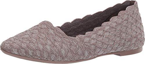 Skechers Cleo – Honeycomb Dark Taupe 10 B (M)