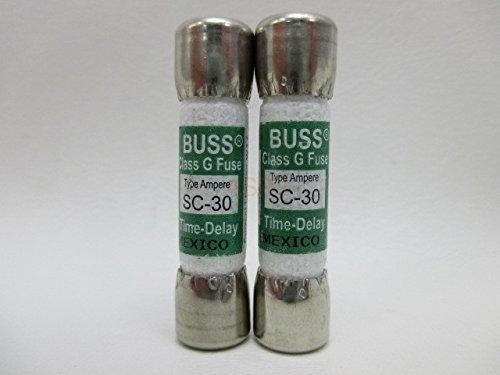 2 X Spa Hot Tub Fuse SC-30 SC30 30 Amp Buss Littlefuse SLC30 Balboa Gecko Lot