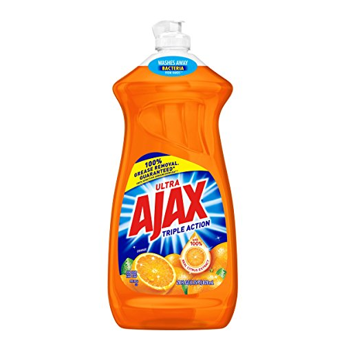 Ajax Triple Action Dish Liquid - Orange, 28 Fluid Ounces