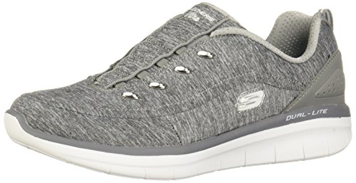 Skechers Synergy 2.0-Scouted Sneaker - Grey - Womens - 10
