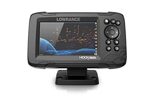 Lowrance HOOK Reveal 5x SplitShot - 5-inch Fish Finder with SplitShot Transducer, GPS Plotter