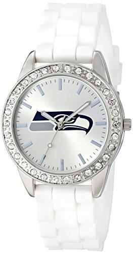 Game Time Women's NFL-FRO-SEA'Frost' Watch - Seattle Seahawks