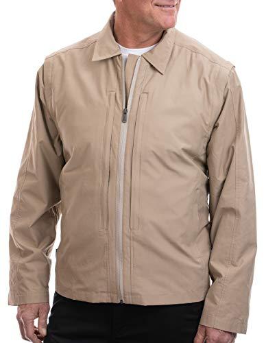 SCOTTeVEST Essential Jacket 2.0 for Men - Travel Jacket - 24 Pockets - SND XXXL Sand