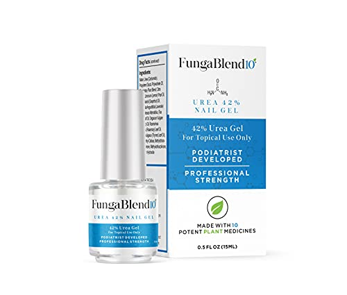 Cure Fungus Faster - Urea 42% Nail Gel - Delivers Antifungal Medication Directly to Fungus - Quick Results