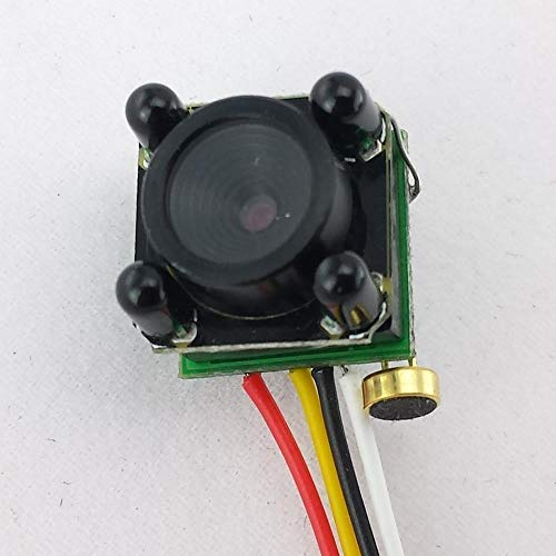 Mini Analog Camera Security Camera with 4 pcs Infrared LE Night Vision 3.6mm Lens CCTV System