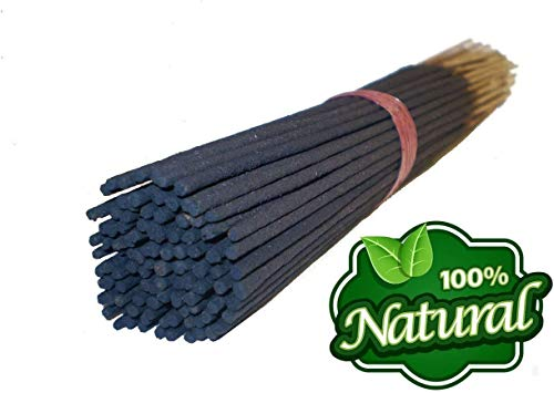Bless International 100%-Natural-Incense-Sticks Handmade-Hand-Dipped The-Best-Scent (Wildberry with Incense Holder, 500 Incense Sticks)