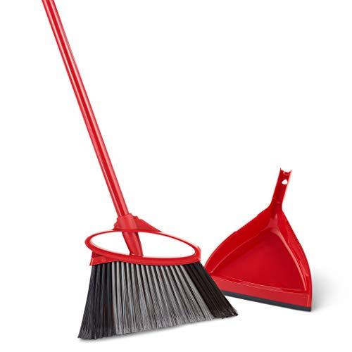 O-Cedar PowerCorner Angle Broom with Dustpan