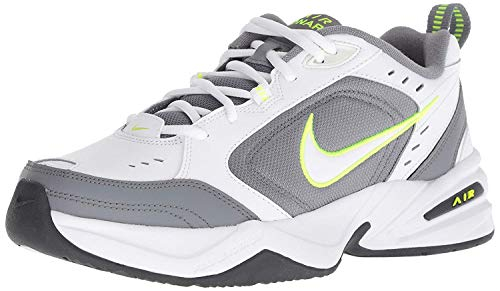 Nike Men's Air Monarch IV Cross Trainer, White/White-Cool Grey-Anthracite, 10 Regular US