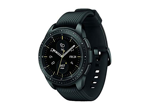 (Refurbished) SAMSUNG Galaxy Watch (42mm) SM-R810NZKAXAR (Bluetooth) - Black