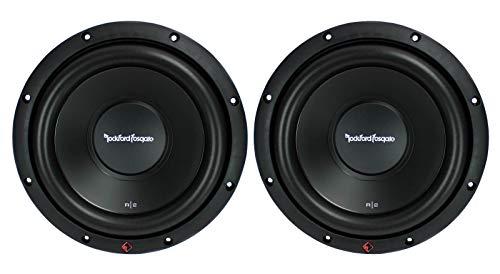 2 New ROCKFORD FOSGATE R2D2-10 1000W 10' 2-Ohm Car Audio Subwoofers Subs R2D210