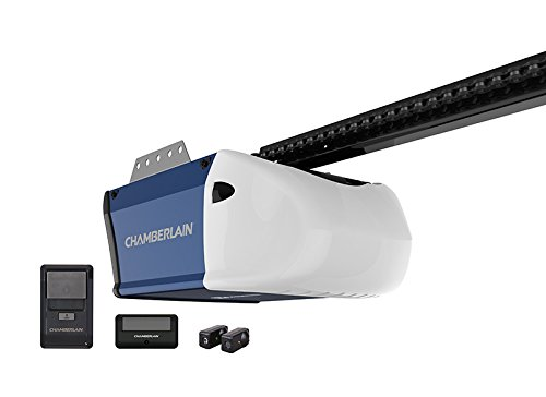 Chamberlain Pd510 Garage Door Opener, ½ Hp, Durable Chain Drive Operation, Includes 1-1 Button Remote, Wall Control Panel