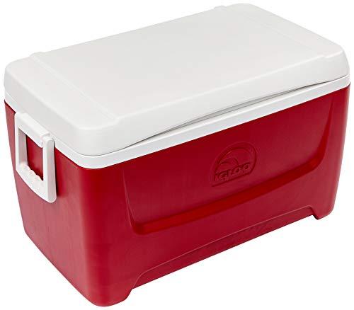 Igloo Island Breeze 48 Quart Cooler (Lava Red, 25.562 x 14.062 x 14.125-Inch)