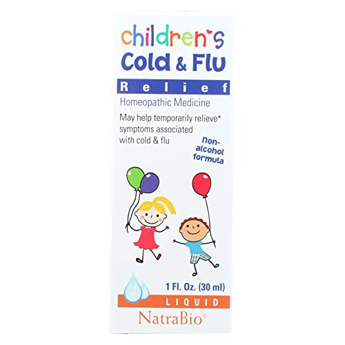 Natrabio Childrens Cold And Flu Relief - 1 Fl Oz